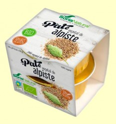 Paté Vegetal de Alpiste - Soria Natural - 2 x 50 gramos
