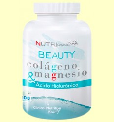 BEAUTY Colágeno Magnesio Ácido Hialurónico - Clinical Nutrition Beauty - 200 comprimidos