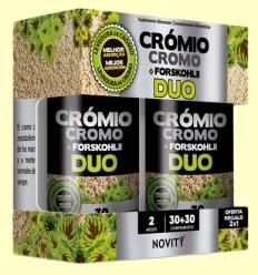 Cromo + Forskohlii Duo - Novity - 60 comprimidos