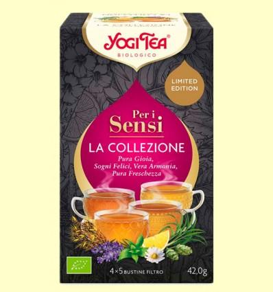 Para los Sentidos - La Colección - Yogi Tea - 20 bolsitas de infusión
