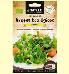 Semillas para Germinar Brotes Ecológicos de Girasol - Batlle