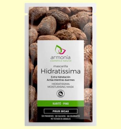 Mascarilla Facial Hidratissima extra Hidratación - Armonía - 10 gramos
