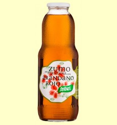 Zumo de Manzana con Arándano Rojo - Santiveri - 1 litro