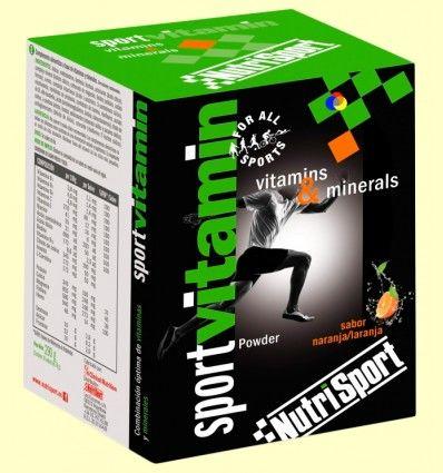 Sport Vitamin - Vitaminas y Minerales - NutriSport - 10 sobres