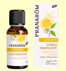 Cítrico Tonificante Bio - Difusión - Pranarom - 30 ml