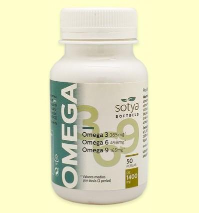 Omega 3 6 9 - 1400 mg - Sotya - 50 perlas