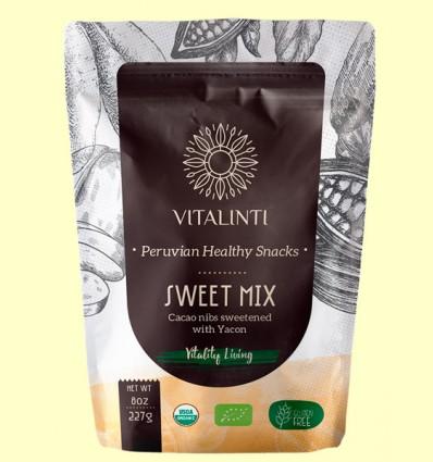 Sweet Mix - Cacao en Trozos con Yacón Bio - Vitalinti - 113 gramos