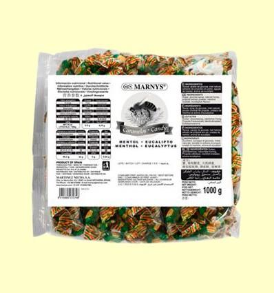 Caramelos de Propoleo Miel Mentol y Eucalipto - Marnys - 1 kg