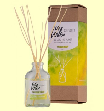 Difusor de Aceites Esenciales Light Lemongrass - We Love the Planet - 50 ml