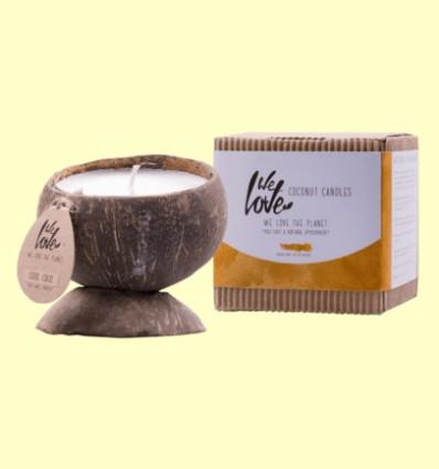 Vela de Cera de Soja Cocconut Candle Cool Coco - We love the planet - 1 unidad