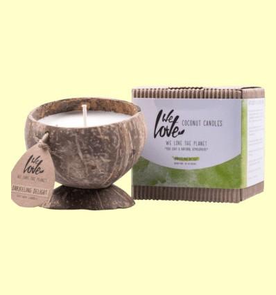 Vela de Cera de Soja Cocconut Candle Darjeeling Delight - We love the planet - 1 unidad