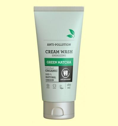 Jabón en Crema Matcha Bio - Urtekram - 180 ml