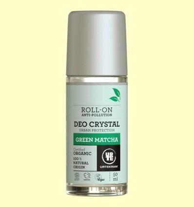 Desodorante Roll On Matcha Bio - Urtekram - 50 ml