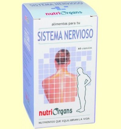Nutriorgans Sistema Nervioso - Tongil - 60 cápsulas *