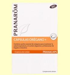 Orégano con Esencia de Limón - Pranarom - 30 cápsulas