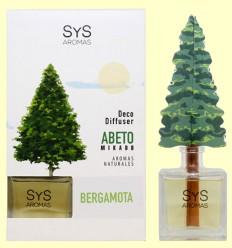 Ambientador Difusor Árbol Bergamota - Laboratorio SyS - 90 ml