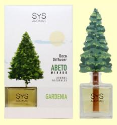 Ambientador Difusor Árbol Gardenia - Laboratorio SyS - 90 ml