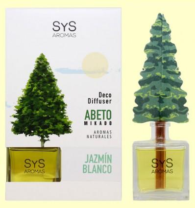 Ambientador Difusor Abeto Jazmín Blanco - Laboratorio SyS - 90 ml