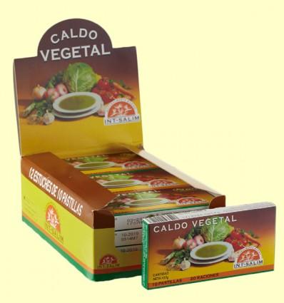 Caldo Vegetal - Int-Salim - 10 cubitos