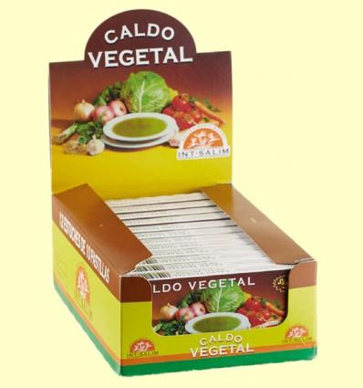Caldo Vegetal Sin Sal - Int-Salim - 10 cubitos
