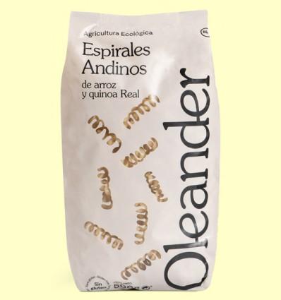Espirales Andinos de Arroz y Quinoa Real - Oleander - 500 gramos