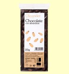Chocolate con Almendras Bio - Oleander - 200 gramos