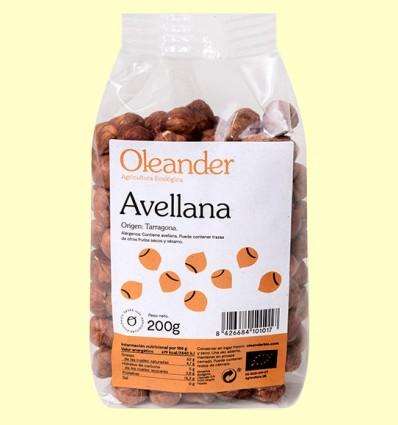 Avellana Cruda Bio - Oleander - 200 gramos *