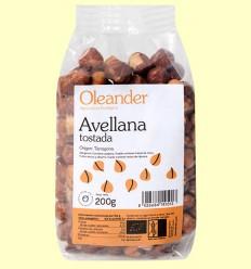 Avellana Tostada Bio - Oleander - 200 gramos