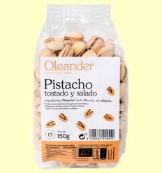 Pistacho Tostado y Salado Bio - Oleander - 150 gramos