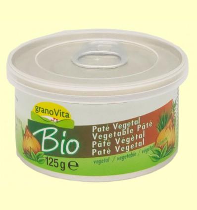 Paté Vegetal Bio - Granovita - 125 gramos