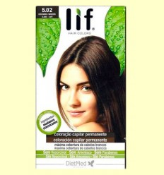 Tinte Cabello Lif Hair Colors 5.02 - Castaño Marrón - DietMed - 1 kit