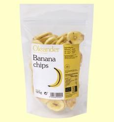 Banana Chips Bio - Oleander - 125 gramos