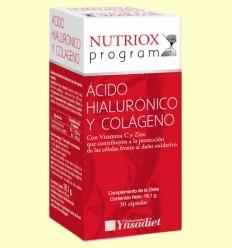 Colágeno y Ácido Hialurónico Nutriox - Ynsadiet - 30 cápsulas