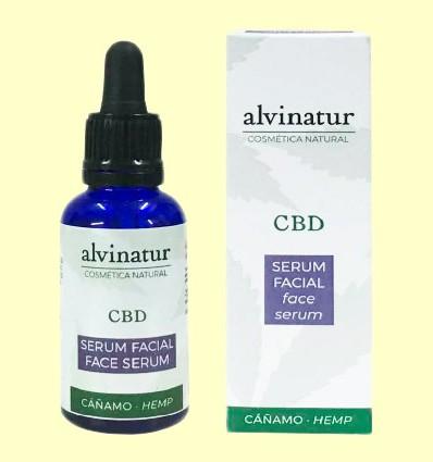 Serum Facial CBD Bio - Alvinatur - 30 ml