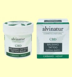 Bálsamo CBD Tattoo Bio - Alvinatur - 100 ml