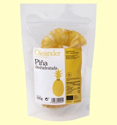 Piña Deshidratada Bio - Oleander - 125 gramos