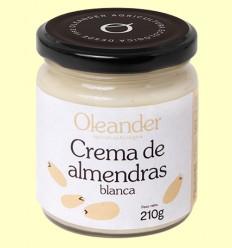 Crema de Almendras Blanca Bio - Oleander - 210 gramos