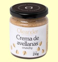 Crema de Avellanas Crunchy Bio - Oleander - 210 gramos