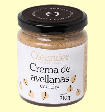 Crema de Avellanas Crunchy Bio - Oleander - 210 gramos *