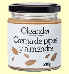Crema de Pipas y Almendras Bio - Oleander - 210 gramos