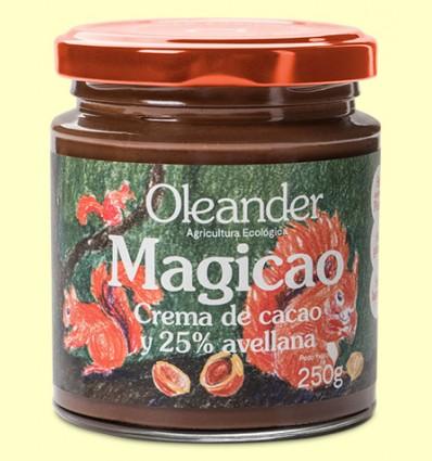 Crema de Cacao con Avellanas Magicao Bio - Oleander - 250 gramos