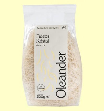 Fideos de Arroz Kristal Bio - Oleander - 500 gramos