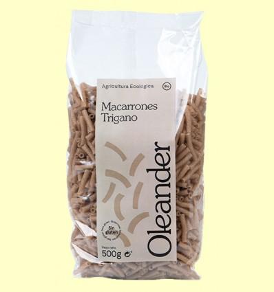 Macarrones Triganos Bio - Oleander - 500 gramos