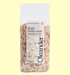 Muesli Andino con Cacao Bio - Oleander - 200 gramos