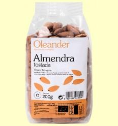 Almendra Tostada con Piel Bio - Oleander - 200 gramos