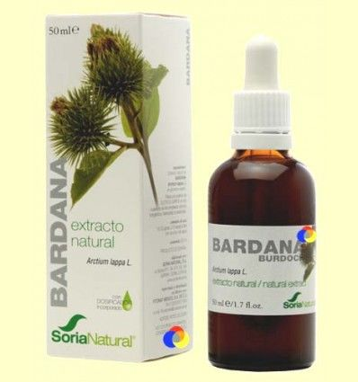 Bardana - Extracto de Glicerina Vegetal - Soria Natural - 50 ml