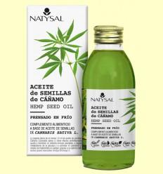 Aceite de Semillas de Cáñamo - Natysal - 150 ml