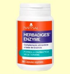 Herbadiges Enzyme - Natysal - 60 cápsulas *