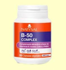 B50 Complex - Natysal - 60 cápsulas