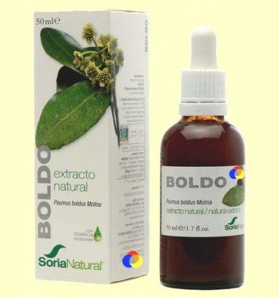 Boldo - Extracto de Glicerina Vegetal - Soria Natural - 50 ml